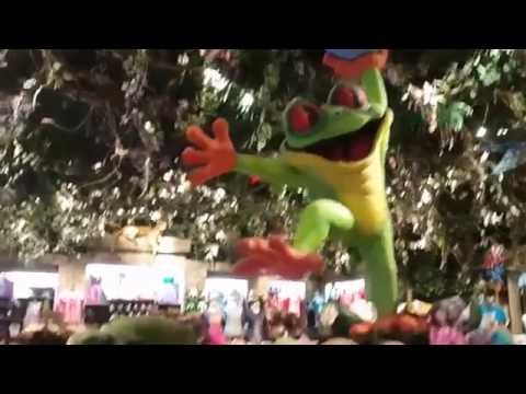 Full Tour and Overview Of the Rainforest cafe in Downtown Disney/Disney Springs 2016