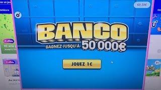 JE GRATTE 30 BANCO EN LIGNE $$$ On vise les 50 000 €