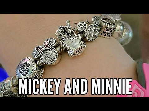 Disney Pandora Mickey And Minnie Bracelet
