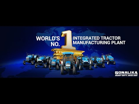 A Look Into The World's No. 1 Tractor Manufacturing Plant