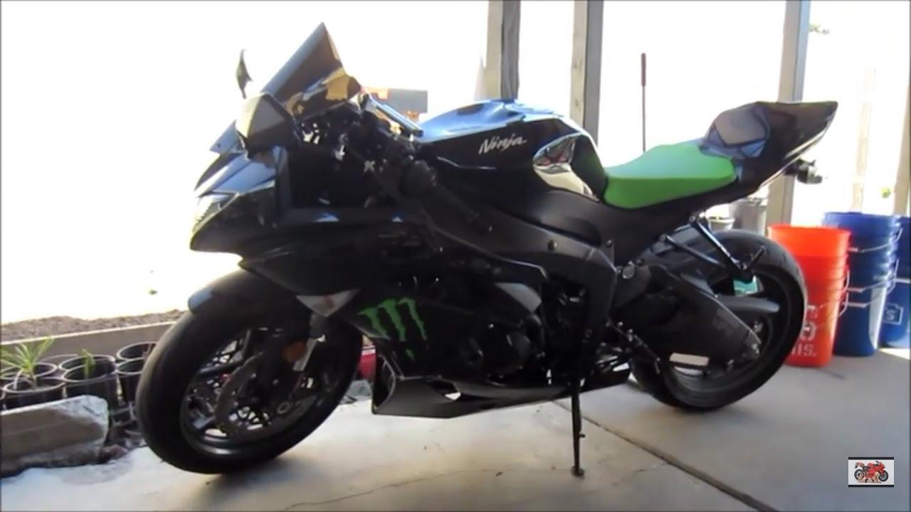 Superior Sport Bike Rider Dormant For Years Planning To Ride Again 2009 Kawasaki  Ninja ZX6R MONSTER Edition