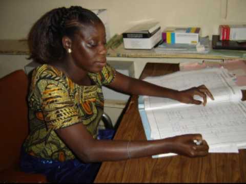 Sénégal les soins, au poste de santé de niacoulrab