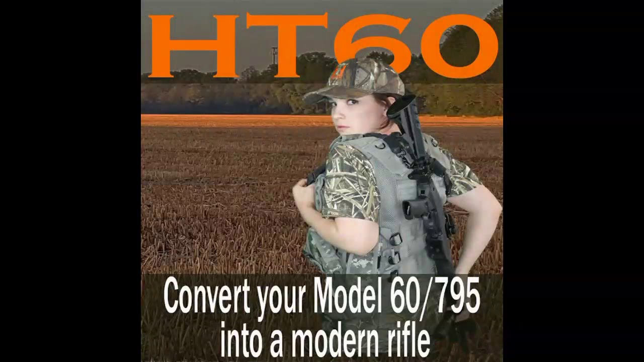 Hunting Tactical Ht60 Forearm Adjustment Tactical Marlin Stock Youtube