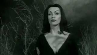 Plan 9 from Outer Space - Vampira. Ed Wood, Golden Turkey Award