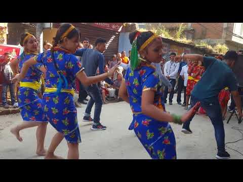 """Kutu Kutu - New Nepali Movie """"KUMVA KARAN"""" Song.2017/ Tihar Dance"""