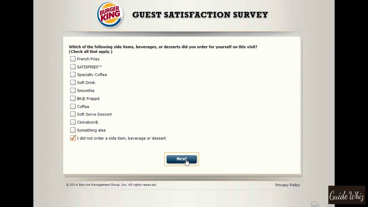 Burger King Survey and Coupon Code - YouTube