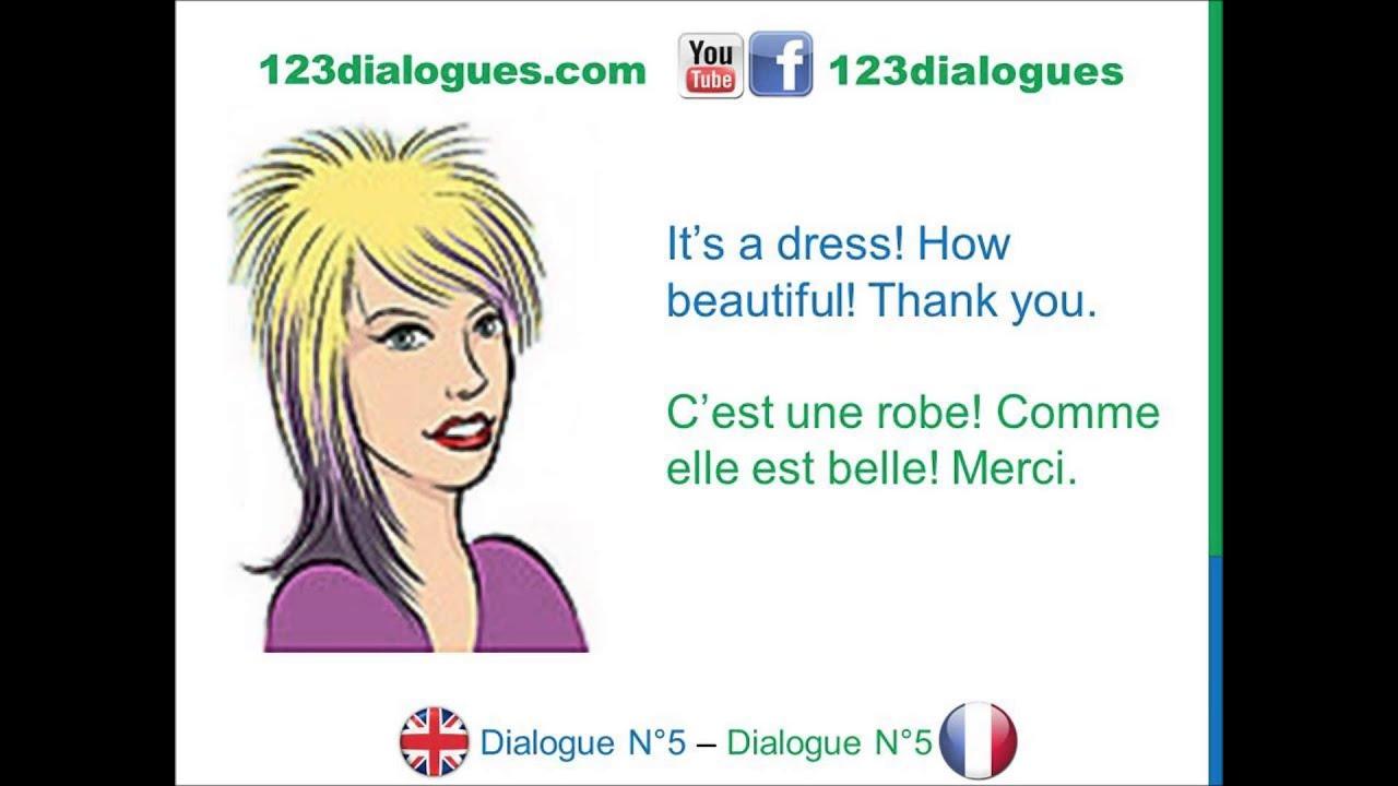 dialogue 5 english french anglais fran ais what is this that qu 39 est ce que c 39 est youtube. Black Bedroom Furniture Sets. Home Design Ideas