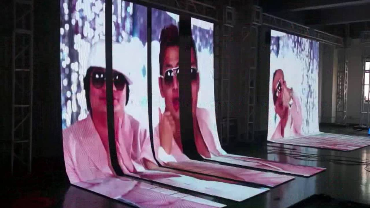 Slim P6 video wall rental LED outdoor rental for eventos, stage backdrop,  festival, church, concerts