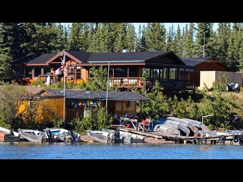 A TOUR OF FRONTIER LODGE ON GREAT SLAVE LAKE