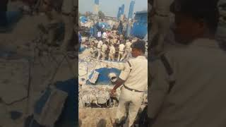 Accident.  Vine factory boiler blast in bagalkot | many peoples died