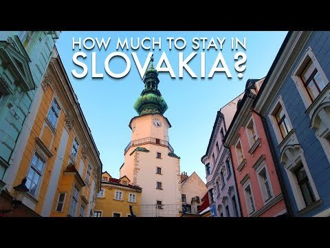 How Much To Stay In Bratislava, Slovakia?