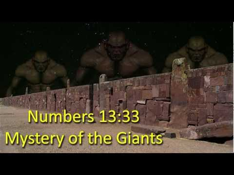 Numbers 13:33 Mystery of the Giants