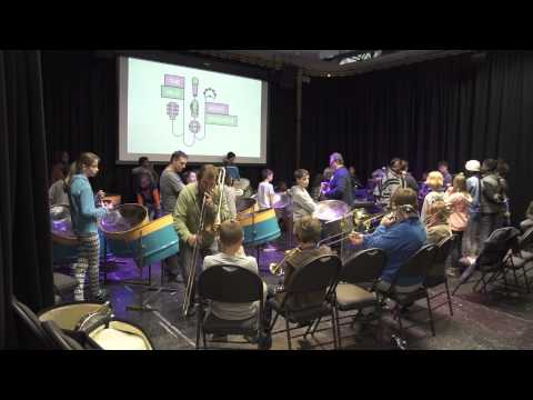 The Vale Music Ensemble - Second Full Band Rehearsal