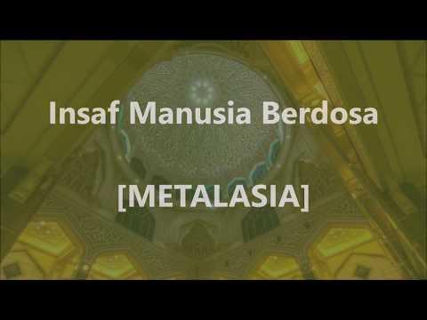 METALASIA - Insaf Manusia Berdosa - Lirik / Lyrics On Screen