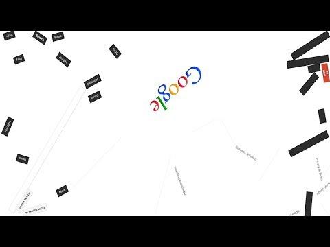 Приколы от Google часть 1: sphere, gravity, space, rainbow, elgoog и другие