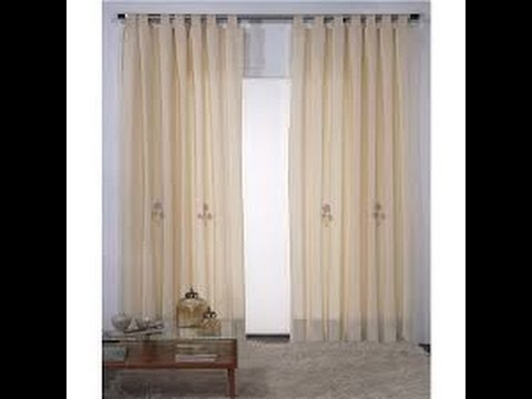 Como hacer cortinas de tela youtube for Como hacer cortinas corredizas