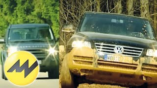 VW Touareg vs. Land Rover Discovery