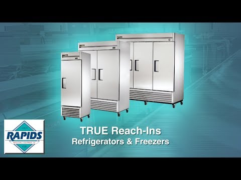 True T-Series Reach In Refrigerators And Freezers