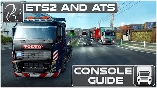 ETS2 and ATS Console Guide (Fly, Teleport, Set Time, Clear Traffic etc)