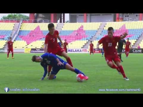 ไฮไลท์จัดเต็ม ทีมชาติไทยU21 2-0 เวียดนามU21 [เนชั่นคัพ2016มาเลเซีย]