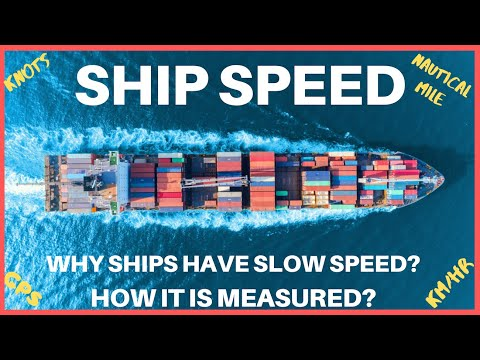 Why Ships are Slow?