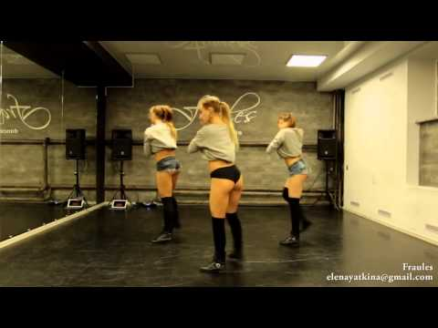 NEW twerk choreo by DHQ Fraules   Travis Porter  Bring it back