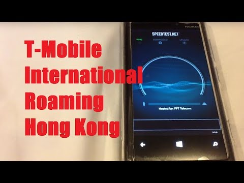 T-Mobile International Roaming In Hong Kong! Problems, Then Testing Text/Data Speed/Web