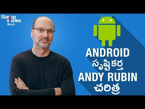 Android Founder Andy Rubin Success Story in Telugu | Android VS iPhone | Google | Startup Stories