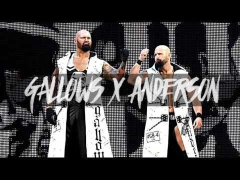 """WWE: """"Omen In the Sky"""" ► Luke Gallows & Karl Anderson Theme Song"""