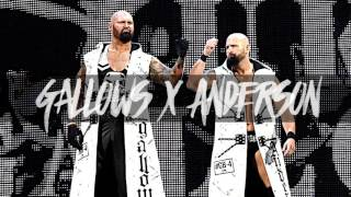 "WWE: ""Omen In the Sky"" ► Luke Gallows & Karl Anderson NEW Theme Song"