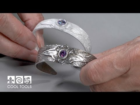 Cool Tools | EZ960® Sterling Silver Layered Cuff Bracelet by Lisel Crowley