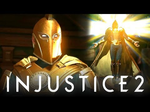 INJUSTICE 2: CRAZIEST DR. FATE YOU WILL EVER SEE!!! [Tournament Matches with OMGxBDON]