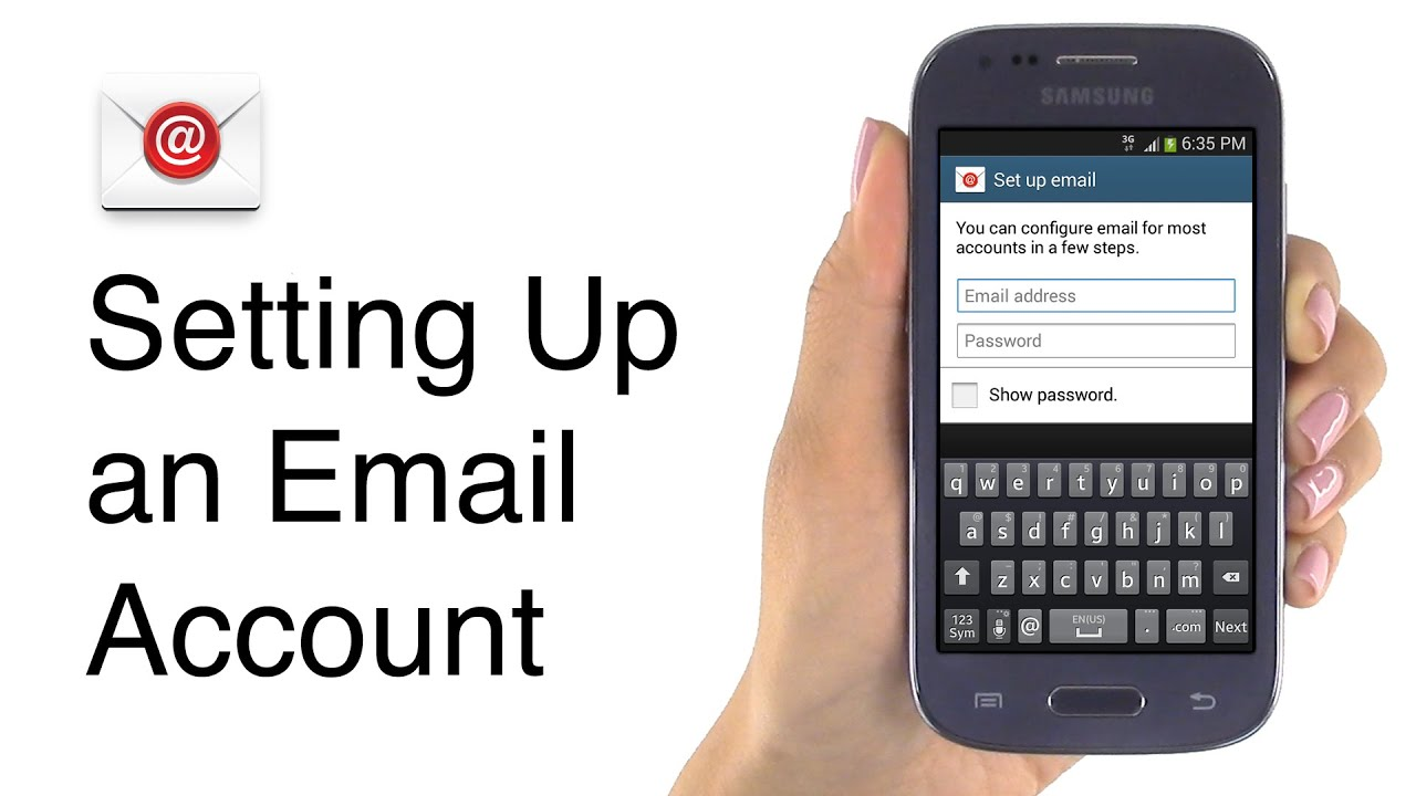 How to Set up and Manage an Email Account on the Jitterbug Touch3 Smartphone