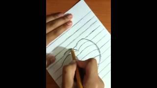 3d сердце(как рисовать)(Здравствуйте! Это мое первое видео, где я рисую 3d сердце. Надеюсь Вы оцените! Для рисования такого замечател..., 2015-11-06T10:53:36.000Z)