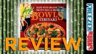Amy's Teriyaki Bowl Review: Freezerburns (Ep596)