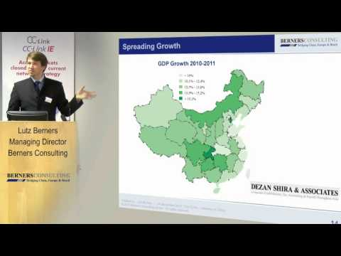 Berners Consulting explains how CC-Link can help companies increase their business in China