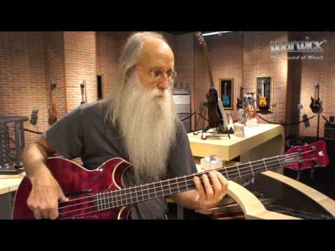 "Lee Sklar with the Warwick ""Jonas Hellborg Signature"" Bass"