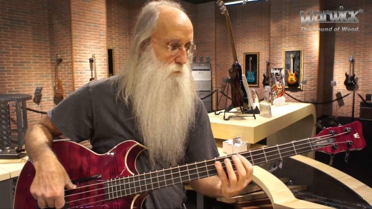 Lee Sklar with the Warwick Jonas Hellborg Signature Bass