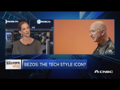 Amazon CEO Jeff Bezos: Best dressed tech titan in Silicon Valley