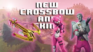 NEW CROSSBOW AND VALENTINES SKINS | Fortnite: Battle Royale