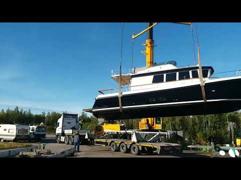 Buying a New Boat from overseas, Targa 46 from Finland to Hong Kong