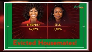 BbNaija: EVICTED HOUSE MATES (ELLA AND KIMOPRAH)
