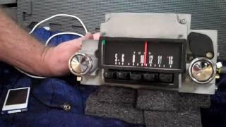 1967 Ford Fairlane original AM radio