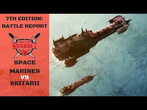 Space Marines vs Skitarii 1500pts Battle Report
