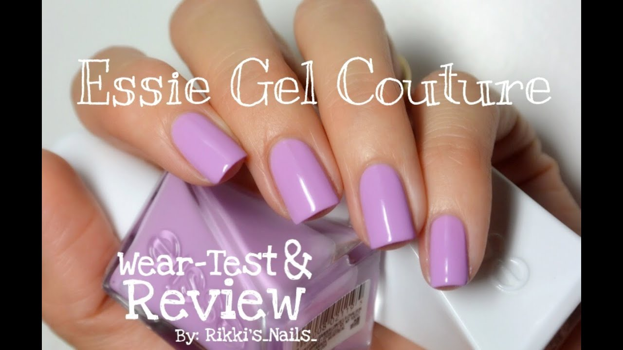 NEW Essie Gel Couture Polish! Wear-test & Review 💅🏼✨ - YouTube