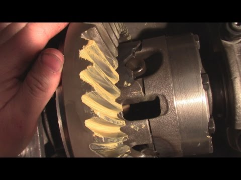 How to Change Gears and Bearings  on a Rear End Or Differential