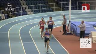 4 X 1 mile Indoor World Record Attempt