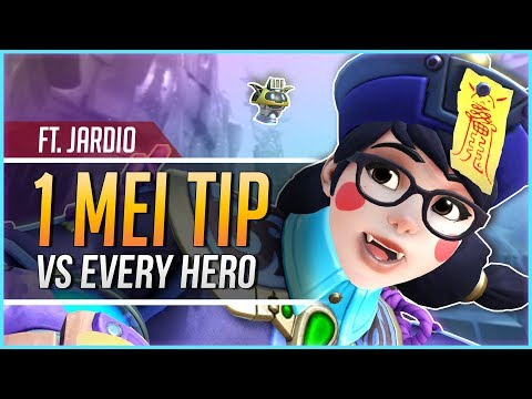 1 MEI TIP for EVERY HERO ft. Jardio