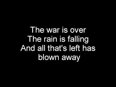 Trust company - the war is over (lyrics)