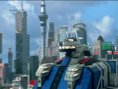 Power Rangers S.P.D. - Samurai - Megazord Fight | Episode 18